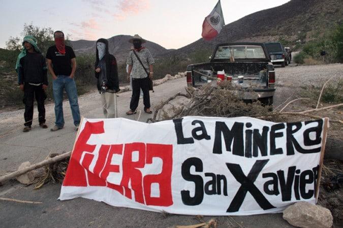 estafadores de la minera san xavier